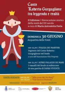 Conte Roberto Gurguglione tra Leggenda e Realtà