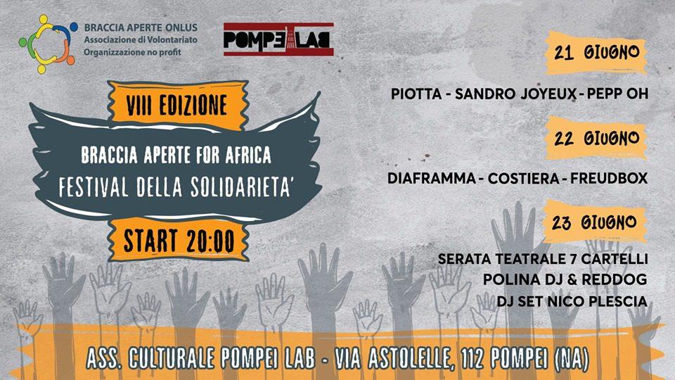 Braccia Aperte Festival - 8° edizione