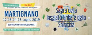 Sagra della Insalata Grika e della Salsiccia - 28° edizione