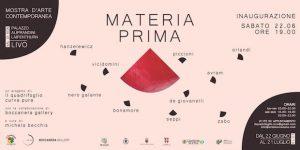 MATERIA PRIMA - mostra di arte contemporanea