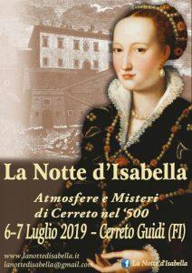 La Notte di Isabella - 6° edizione