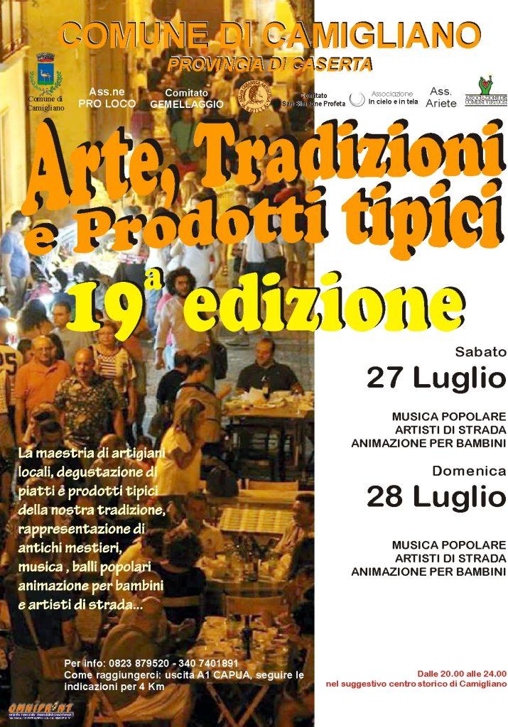 Arte, Tradizioni e Prodotti Tipici - 19° edizione