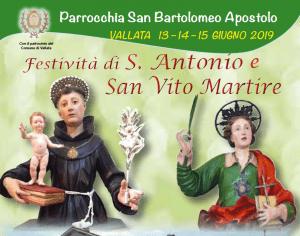 Festività di S. Antonio e S. Vito Martire