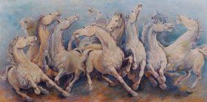 Cavalli in Palio - personale di Roberto Di Jullo