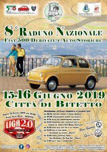 Raduno Nazionale Fiat 500 e Auto Storiche - 8° edizione