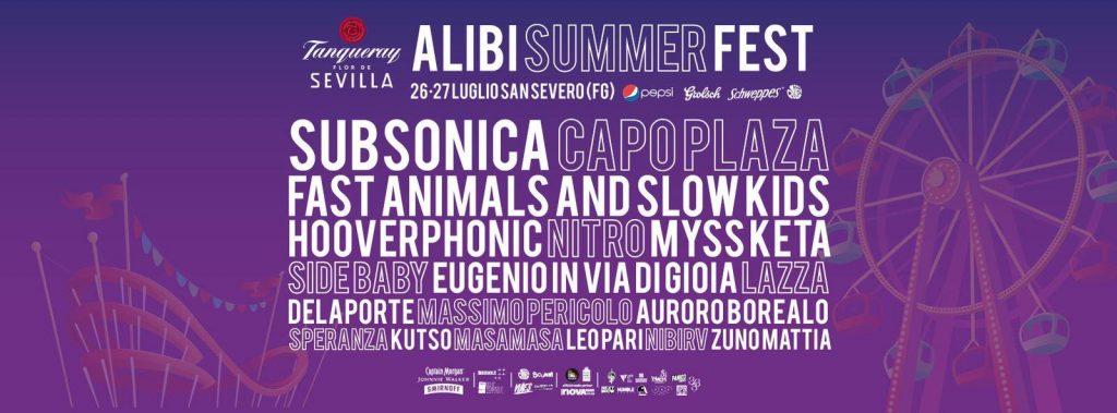 Alibi Summer Fest - 2° edizione