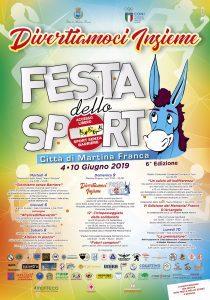 Festa dello Sport 2019 - Divertiamoci Insieme