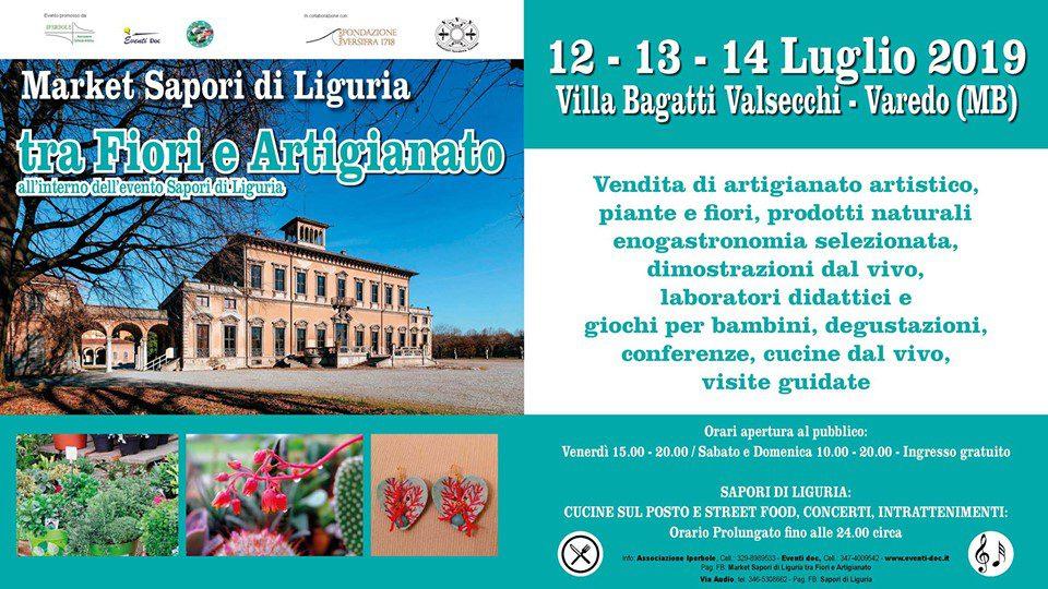 Sapori di Liguria tra Fiori e Artigianato