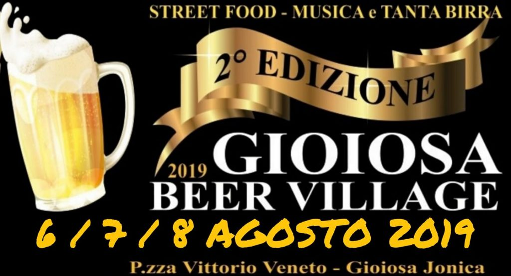 Gioiosa Ionica Beer Village - 2° edizione