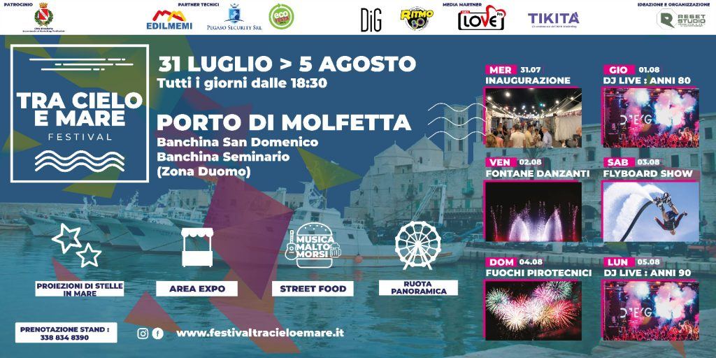 Festival tra Cielo e Mare 2019