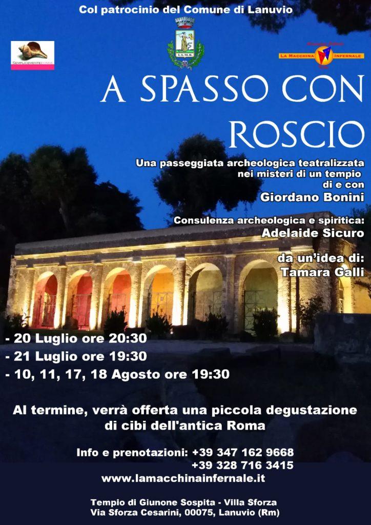 A Spasso con Roscio - Passeggiata Archeologica