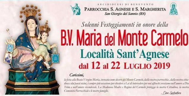 Festeggiamenti B.V. Maria del Monte Carmelo