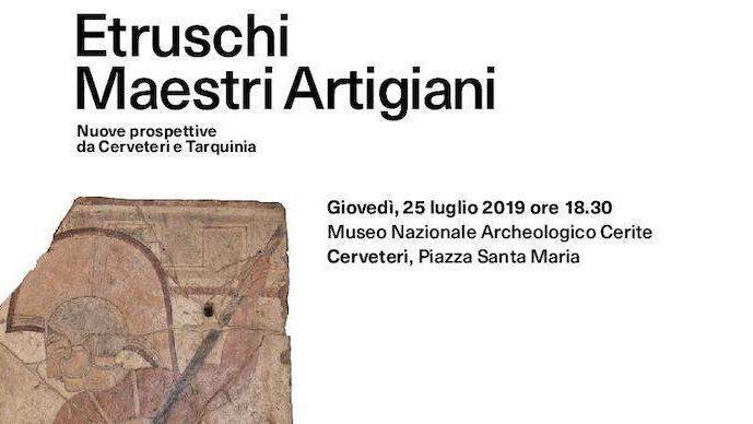 Etruschi Maestri Artigiani. Cerveteri e Tarquinia