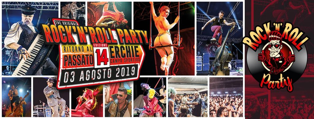 Erchie Rock'n'Roll Party - 14° edizione