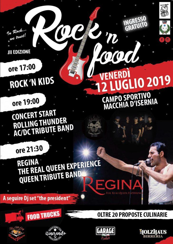 ROCK'N FOOD FESTIVAL - 3° edizione