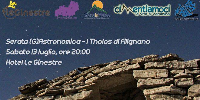 Serata (G)Astronomica - I Tholos di Filignano