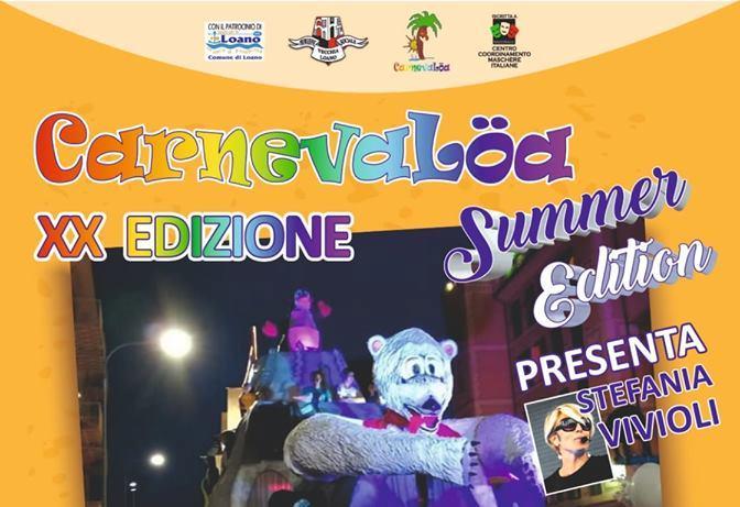 Carnevalöa Summer Edition - 20° edizione