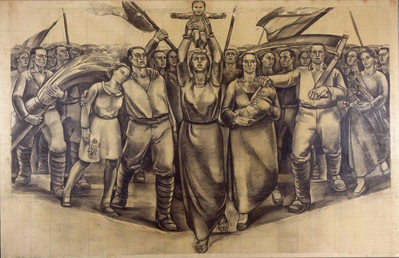Antonio G. Santagata e la Pittura Murale del Novecento