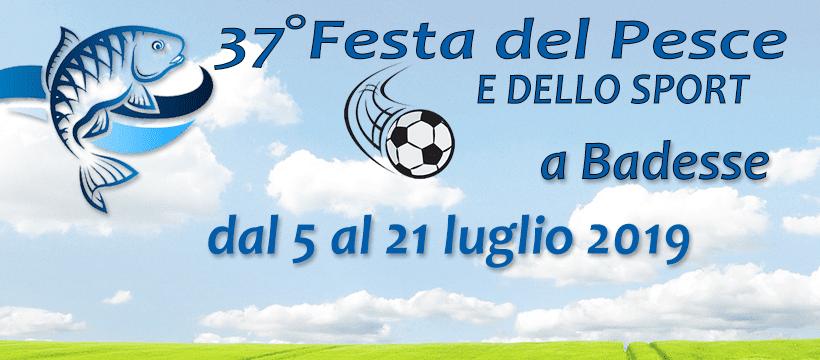 Festa del Pesce e dello Sport - 37° edizione