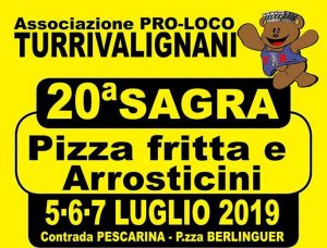 Sagra della Pizza Fritta e degli Arrosticini - 20° edizione