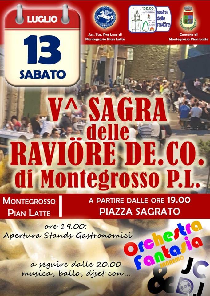 Sagra delle Raviöre - 5° edizione