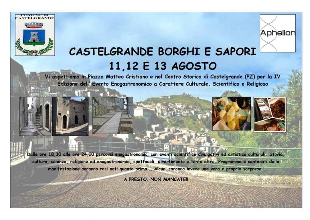 Castelgrande Borghi & Sapori - 4° edizione