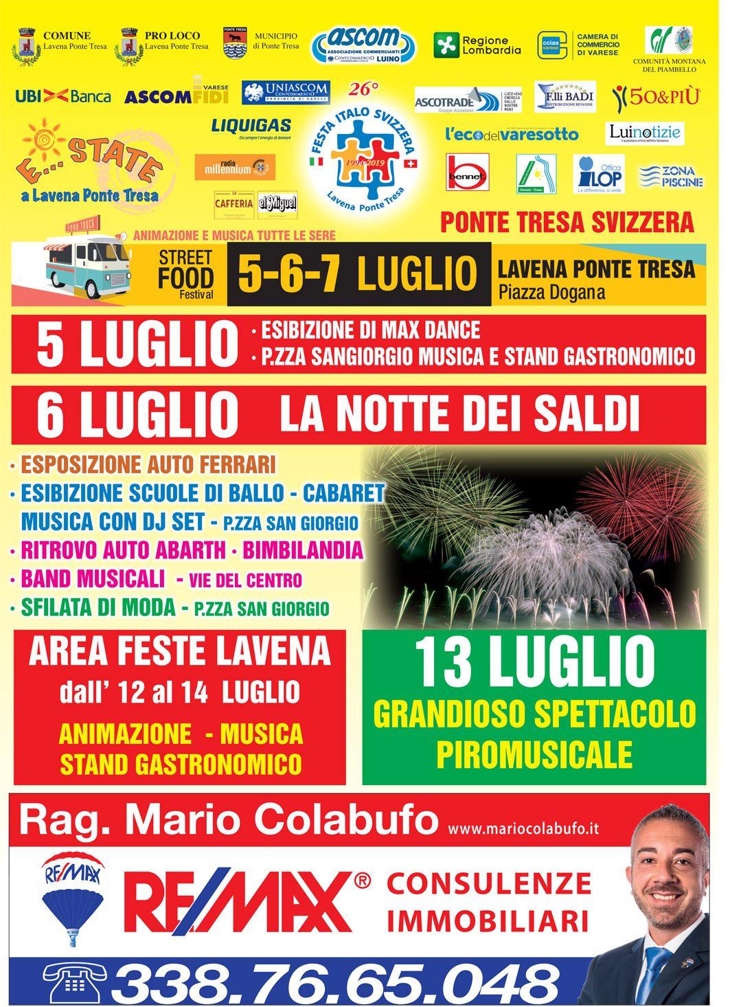 finest selection 93828 acb69 Festa Italo Svizzera – 26° edizione – Italive