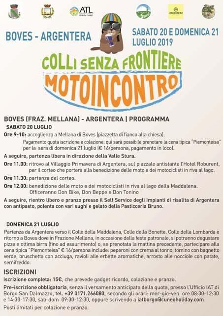 Motoincontro Colli senza Frontiere - 2° edizione