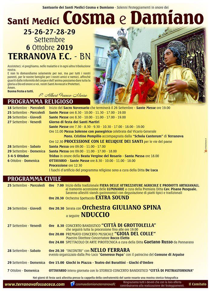 Festa SS. Cosma e Damiano - Terranova