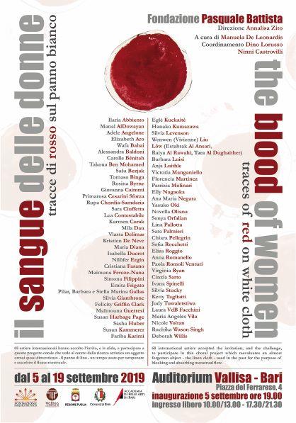 Il Sangue delle Donne. Tracce di Rosso sul Panno Bianco