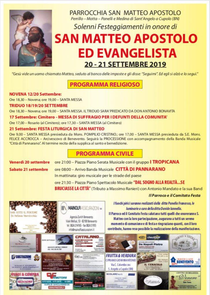 Festa di San Matteo 2019
