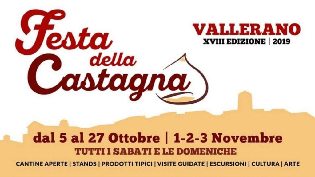 Festa della Castagna di Vallerano - 18° edizione