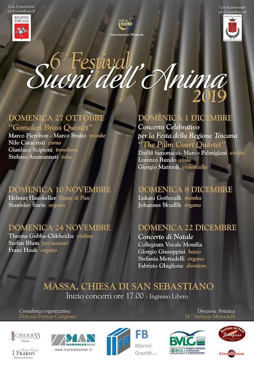 Festival Suoni dell'Anima - 6° edizione