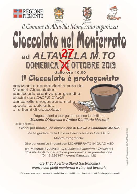 Cioccolato nel Monferrato - 14° edizione