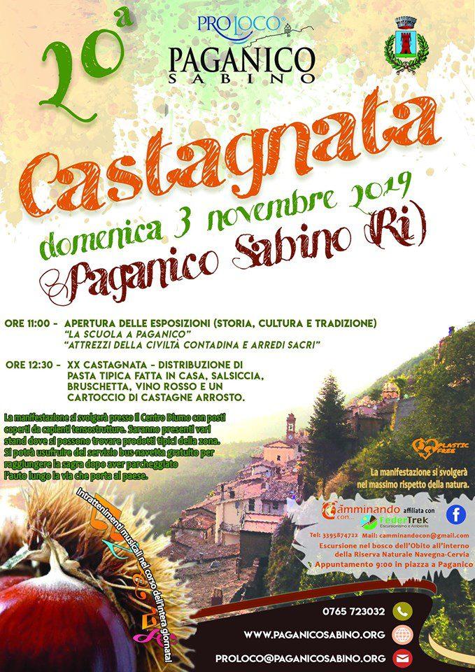 Castagnata Paganichese - 20° edizione
