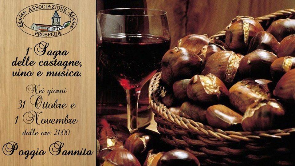Sagra delle Castagne, Vino e Musica 2019
