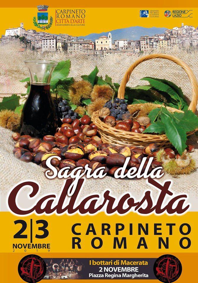 Sagra della Callarosta 2019