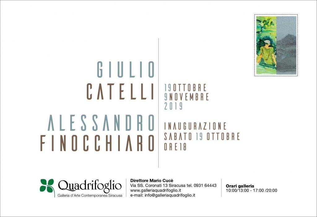 Bipersonale di G. Catelli e A. Finocchiaro