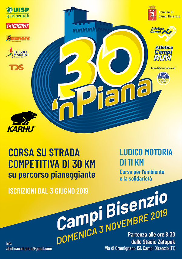 Corsa Podistica 30 'n Piana