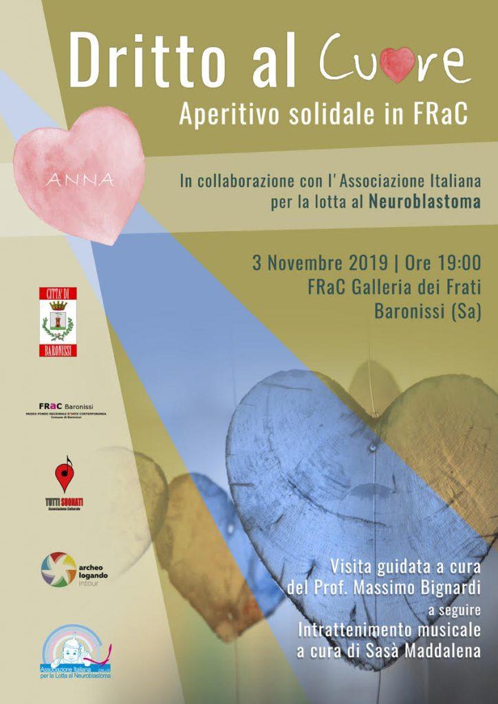 DRITTO AL CUORE - Aperitivo Solidale in FRaC