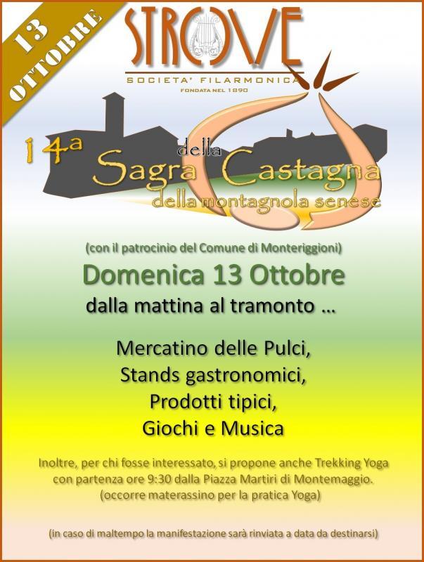 Sagra della Castagna a Strove - 14° edizione