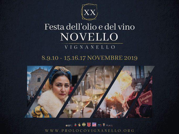 Festa dell'Olio e del Vino Novello - 20° edizione