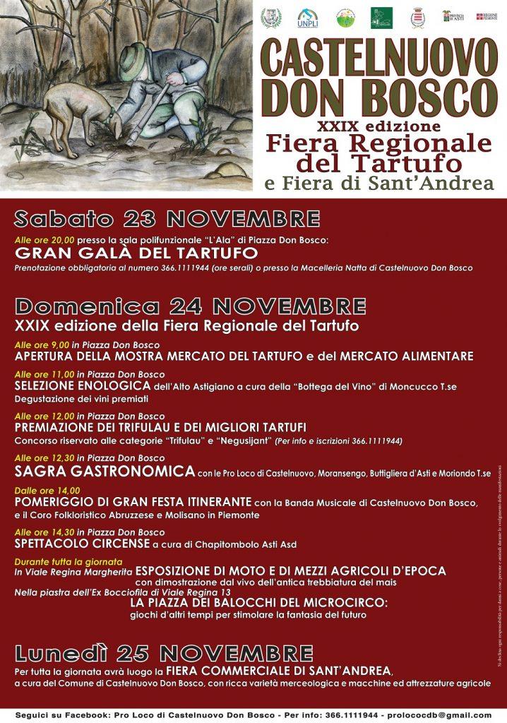 Fiera Regionale del Tartufo - 29° edizione