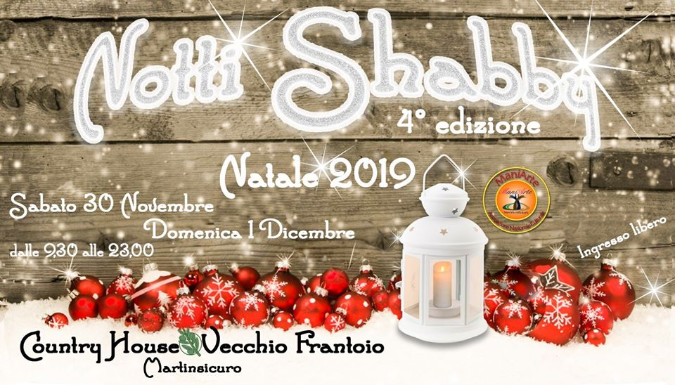 Notti Shabby - 4° edizione