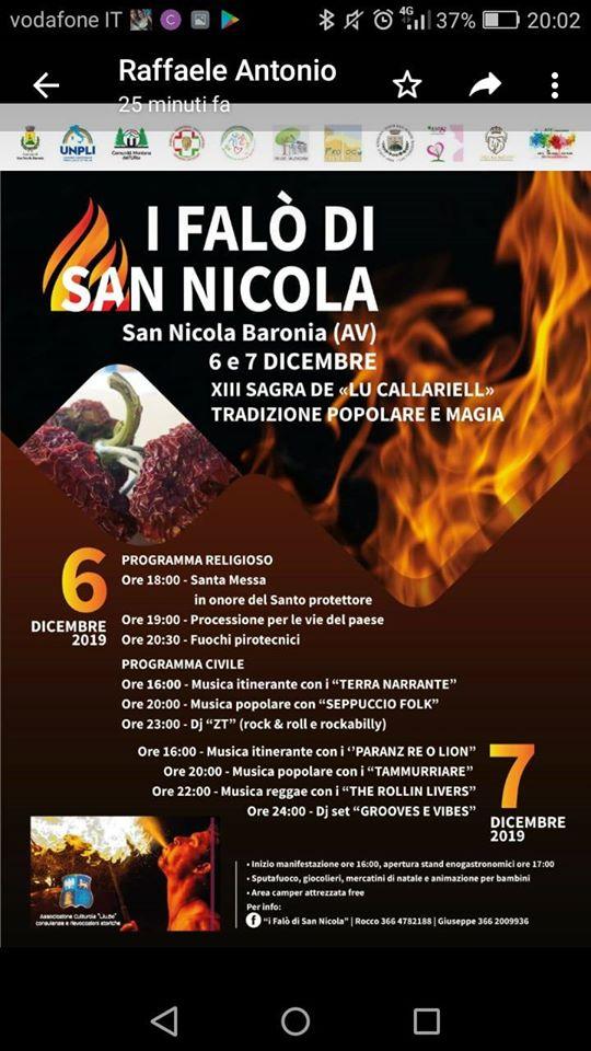 Falò di San Nicola - 13° edizione