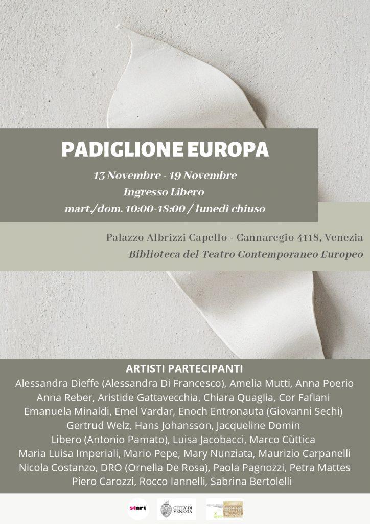 Padiglione Europa. I Migliori Artisti Internazionali