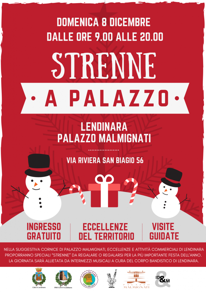 Strenne a Palazzo 2019