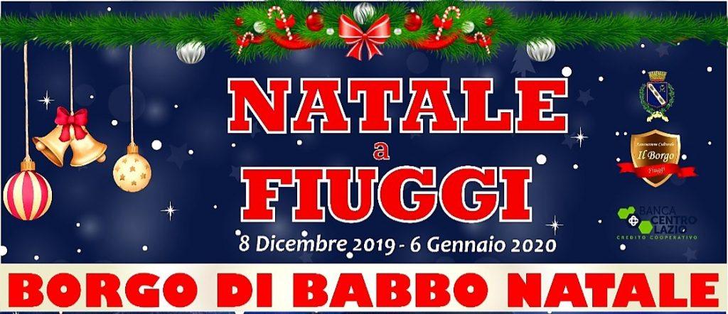 Natale a Fiuggi - Borgo di Babbo Natale 2019