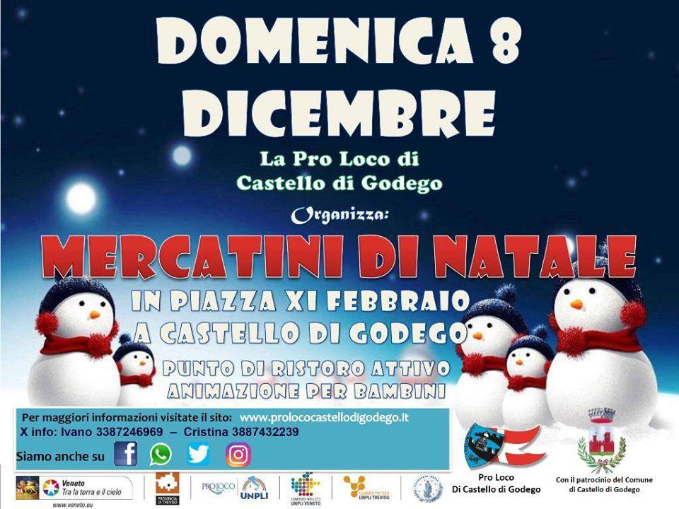 Mercatini di Natale 2019 a Castello di Godego