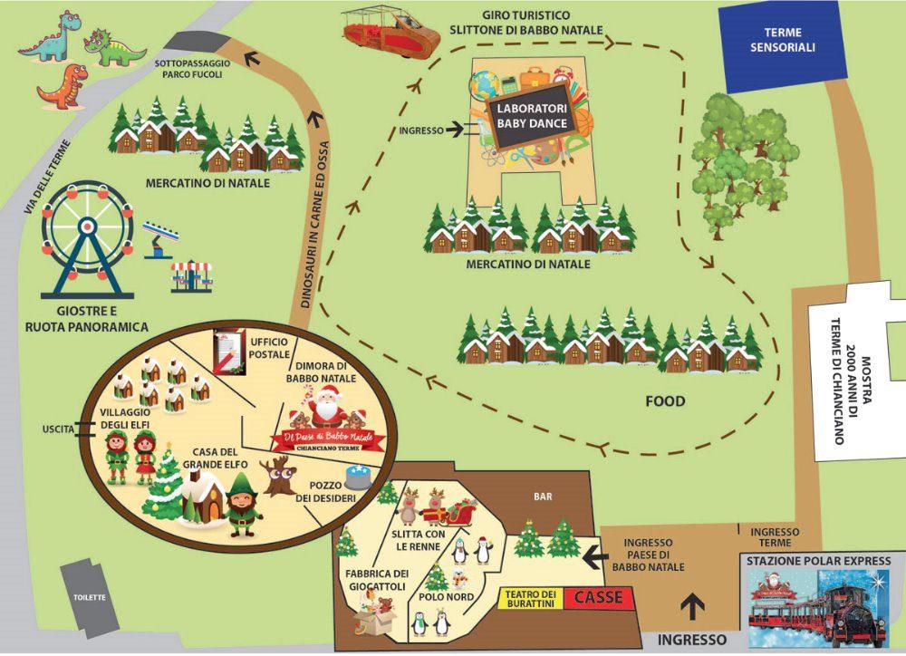 Babbo Natale Mappa.Il Paese Di Babbo Natale 2019 Italive